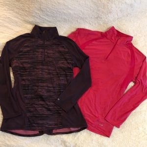 Tops - 2 Pullover Athletic Tops